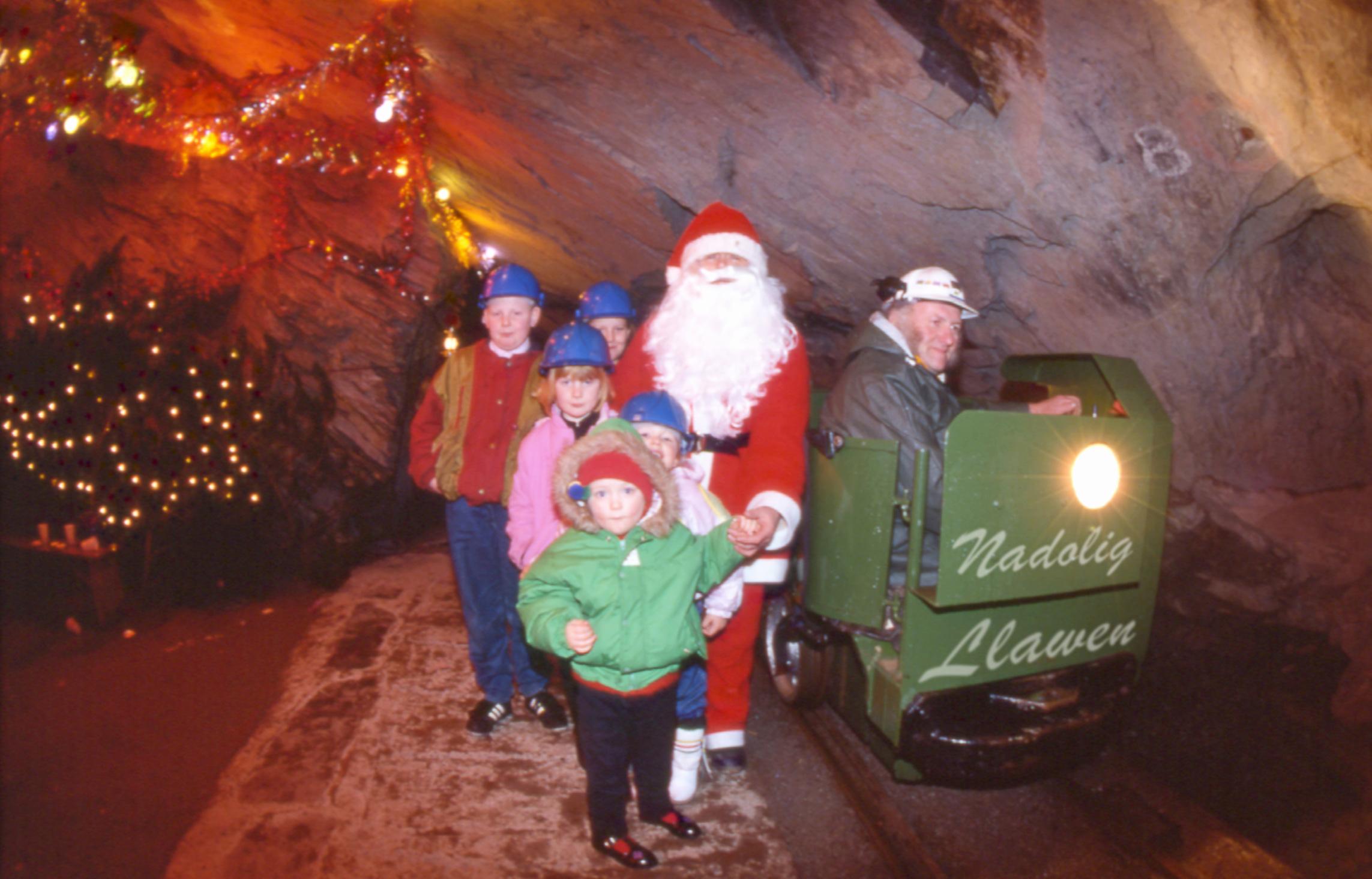 Christmas at Llechwedd