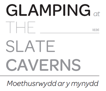 Glamping at the Slate Caverns