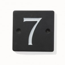 Polished Slate House Number- Numbers 1-9